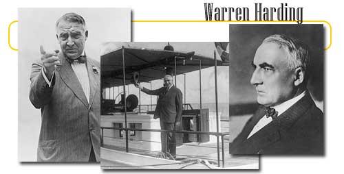 The 29th Us President Warren G Harding