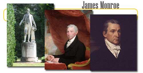 The Fifth Us President James Monroe
