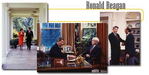 The 40th Us President Ronald Reagan