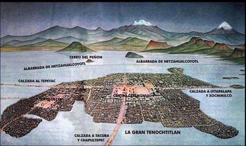 Unique Facts about Mexico: Tenochtitlan